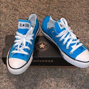 Vivid Blue Converse
